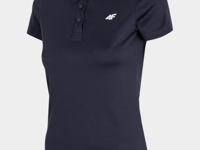Dámske rýchloschnúce polo tričko 4FDry Sportstyle tmavomodrá farba TSDF080-31S