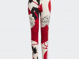 ADIDAS legíny Future Icons Sport Cotton 3-Stripes Wild Shapes Allover-Print
