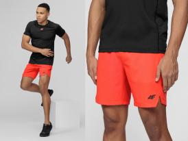 AKCIA: Pánske funkčné šortky 4F Running SKMF014