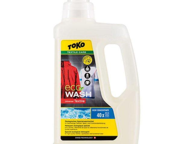 Prací prostriedok na funkčné oblečenie TOKO Eco Textile Wash 1000 ml nová kolekcia zima 2021/22