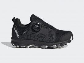 Dámska / juniorská trailová obuv ADIDAS TERREX AGRAVIC BOA RAIN.RDY black 2021
