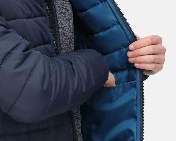 Nová kolekcia: Pánska prešívaná bunda Regatta Helfa RMN154