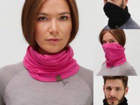 2021/22 new winter: Multifunkčná šatka Silvini Monale 100% MERINO wool UA1910