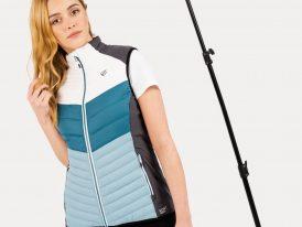 2021/22 AKCIA nová kolekcia: Dámska prešívaná vesta Dare2b Surmount ILOFT WoolFill Merino