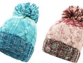 Dámska pletená čiapka s brmbolcom Dare2b Headmost Beanie DWC365