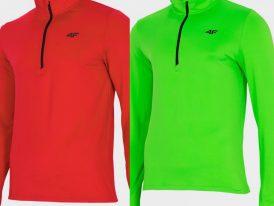 2021/22 AKCIA nová kolekcia: Pánske športové thermoroláky 4F Men's Underwear Stretch 1/2 Zip