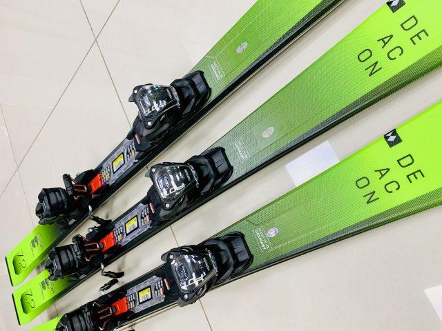 2021/22 AKCIA allmountain lyže: Volkl DEACON 7.2 green + viazanie Marker FDT TP 10