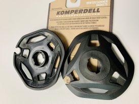 AKCIA nová kolekcia 2021/22: Bajonetové taniere/krúžky Komperdell Large UL Vario Teller Ø 10.5cm